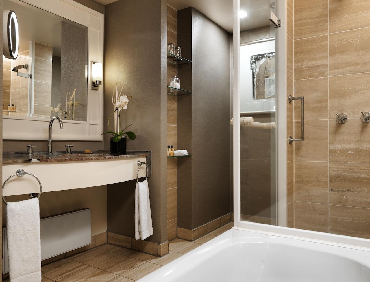 Hyatt Regency Köln Badezimmer aus Marmor / ©Hyatt Regency Köln