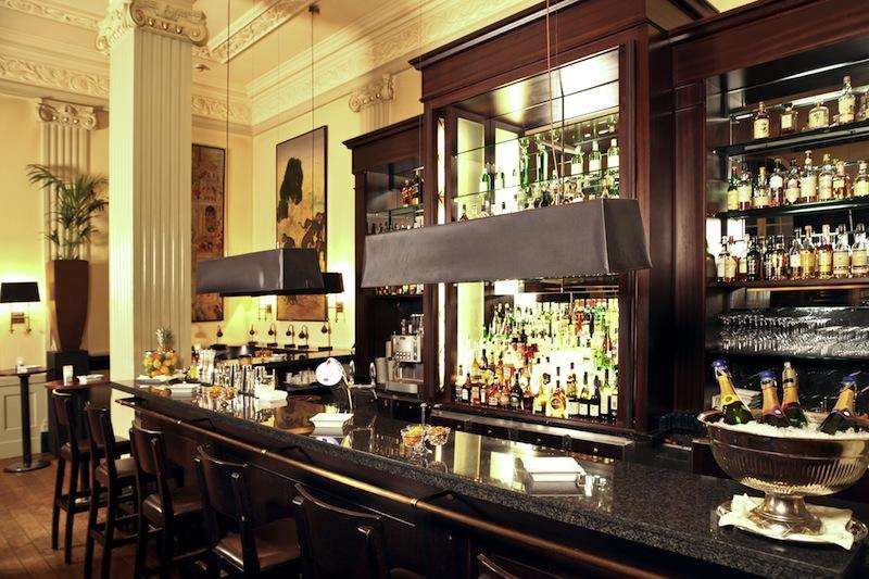 Die Bar Elephant im Hotel Pullman Aachen Quellenhof / © Ingrid Jost-Freie