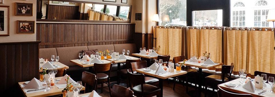 Im Enter Bistro speisen auch zur Mittagszeit gerne Wiesbadener Geschäftsleute / © Nassauer Hof