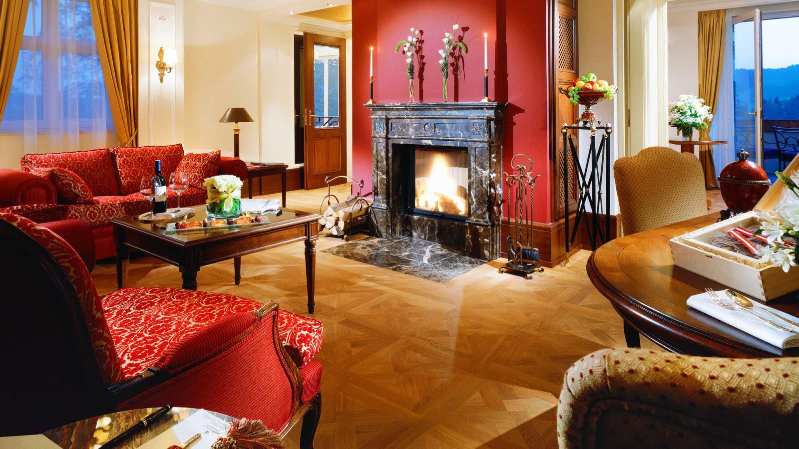 Die Franz Josef Suite / © Schloss Fuschl Betriebe GmbH