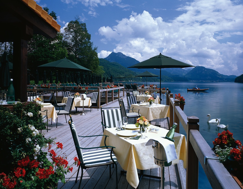 Restaurant am Badesteg / © Schloss Fuschl Betriebe GmbH