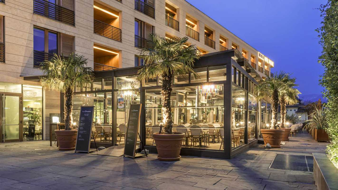 Das Bistro La Piazza / © Hotel Therme Meran GmbH