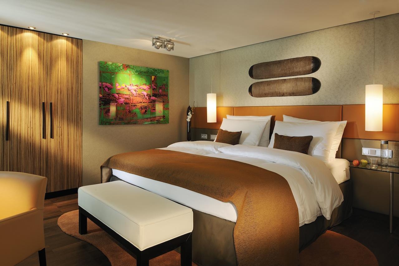 Das Schlafzimmer der Lifestyle-Suite / © InterContinental