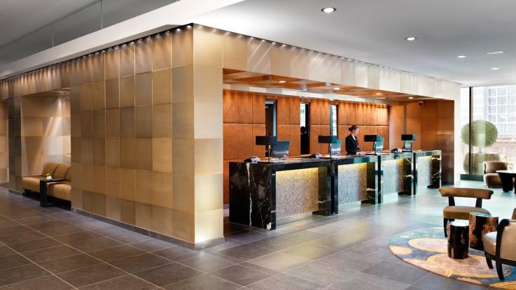 Die Lobby des Hyatt Regency in Düsseldorf / © HYATT REGENCY