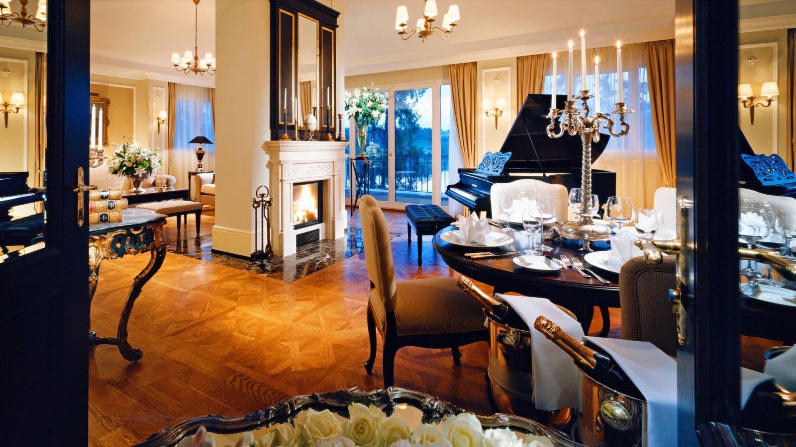 Die imposante Mozart-Suite / © Schloss Fuschl Betriebe GmbH