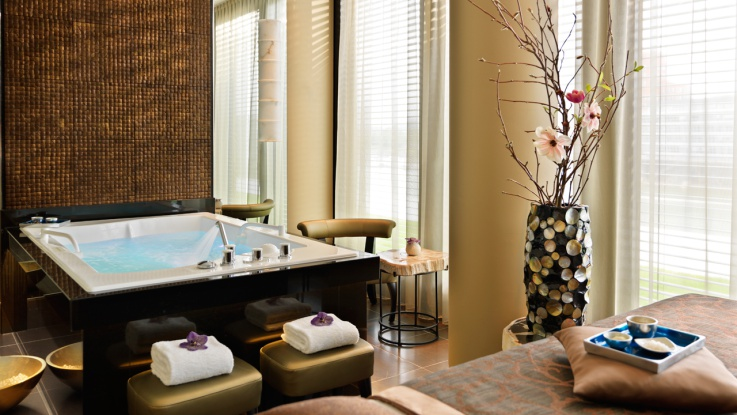Ein Blick in den Private Spa Raum des Rive Spa / © HYATT REGENCY