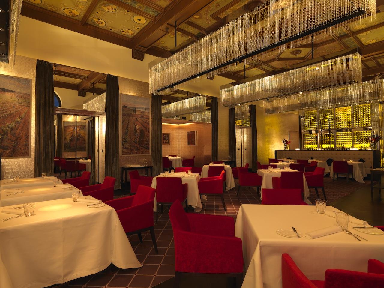 Das Restaurant vom Dolder Grand - ruhige Atmosphäre und erstklassiger Service / © Heinz Unger