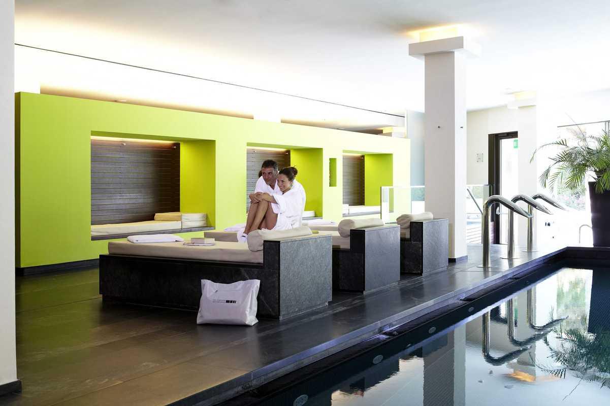 Innenbereich des 5 Elements Spa / © Hotel Therme Meran GmbH