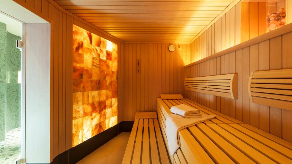 All Balance Spa Bergkristall Sauna / © Althoff Seehotel Überfahrt