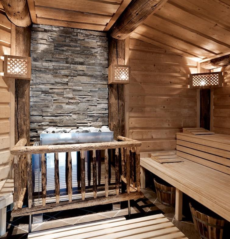 Tiroler Sauna im A-Rosa Kitzbühel / © A-ROSA Resort & Hotel