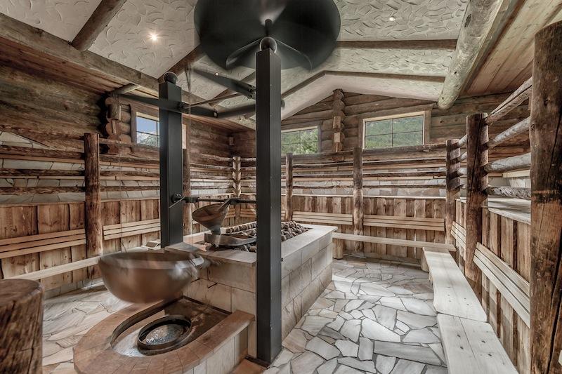 Die Loft-Sauna. Traditonell und dennoch modern / © AQUA DOME