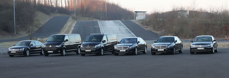 Beim Fahrertraining kommen alle Fahrzeugklassen zum Einsatz / @ Interline Düsseldorf