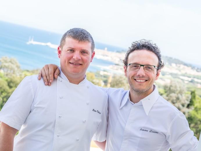 Pietro & Simone an der Côte d' Azur / © Althoff Hotel Villa Belsrose