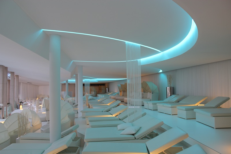 Die Sky-Lounge. Traumhaft schönes Ambiente / © BADEWELT SINSHEIM GmbH