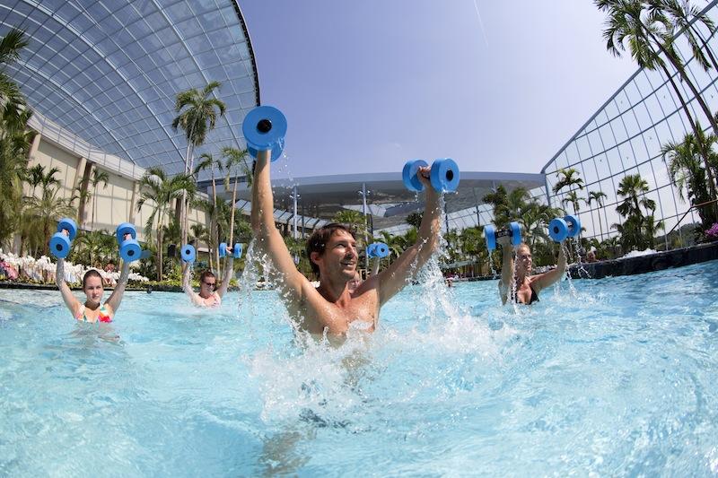 Wassergymnastik macht in der Gruppe am meisten Spaß / © BADEWELT SINSHEIM GmbH