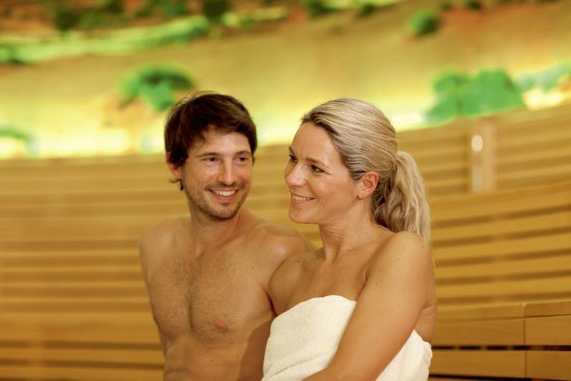 In der Sauna Wüstenwind weht immer eine leichte Briese / © BADEWELT SINSHEIM GmbH