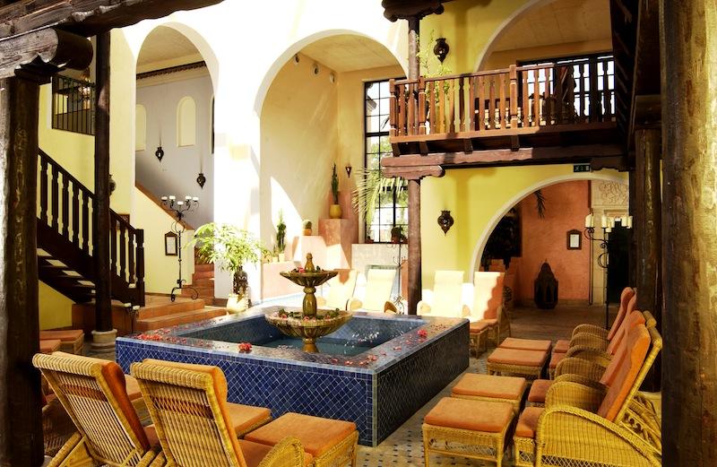 Maurischer Platz: Hier fühlt sich der Gast wie in den südlichen Gefilden - einfach traumhaft / © Mediterana