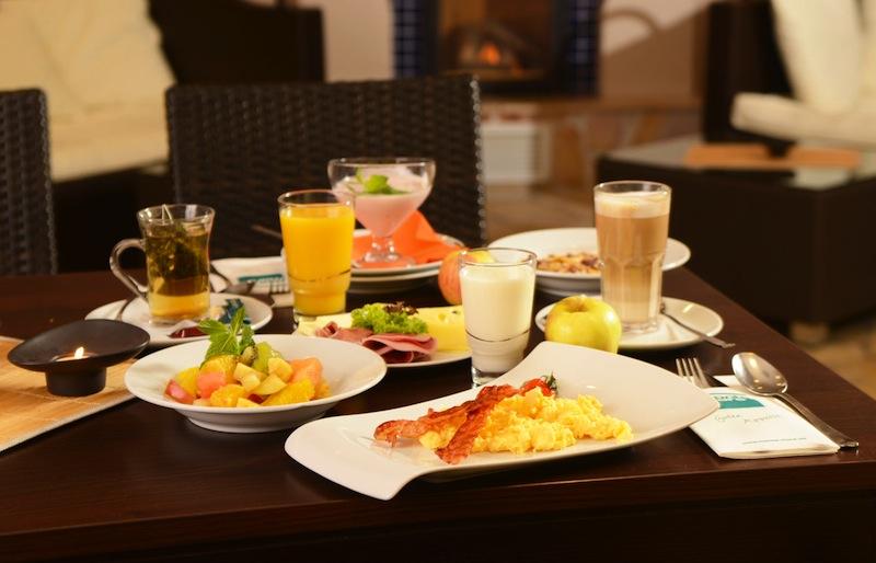 """Auch sehr zu empfehlen - das Frühstück im Restaurant """"bon gusto"""" / © monte mare"""