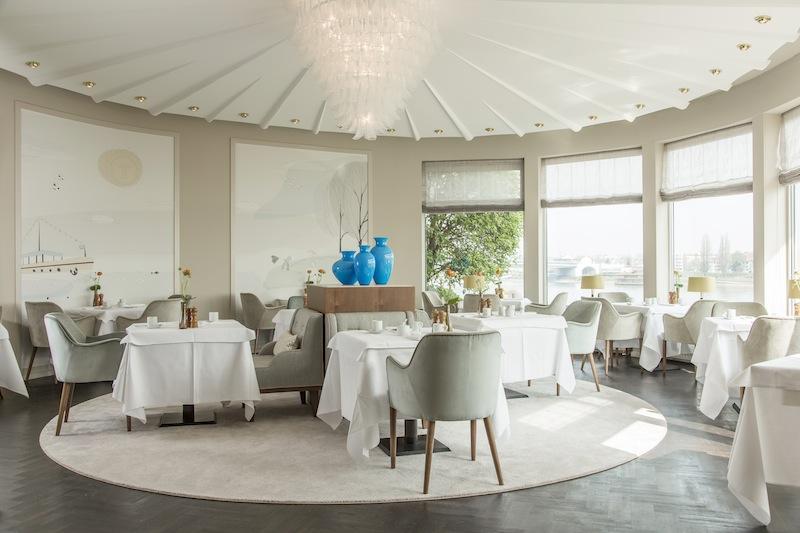 Das schöne Rondell im Restaurant OLIVETO in Bonn / © AMERON Hotel Königshof