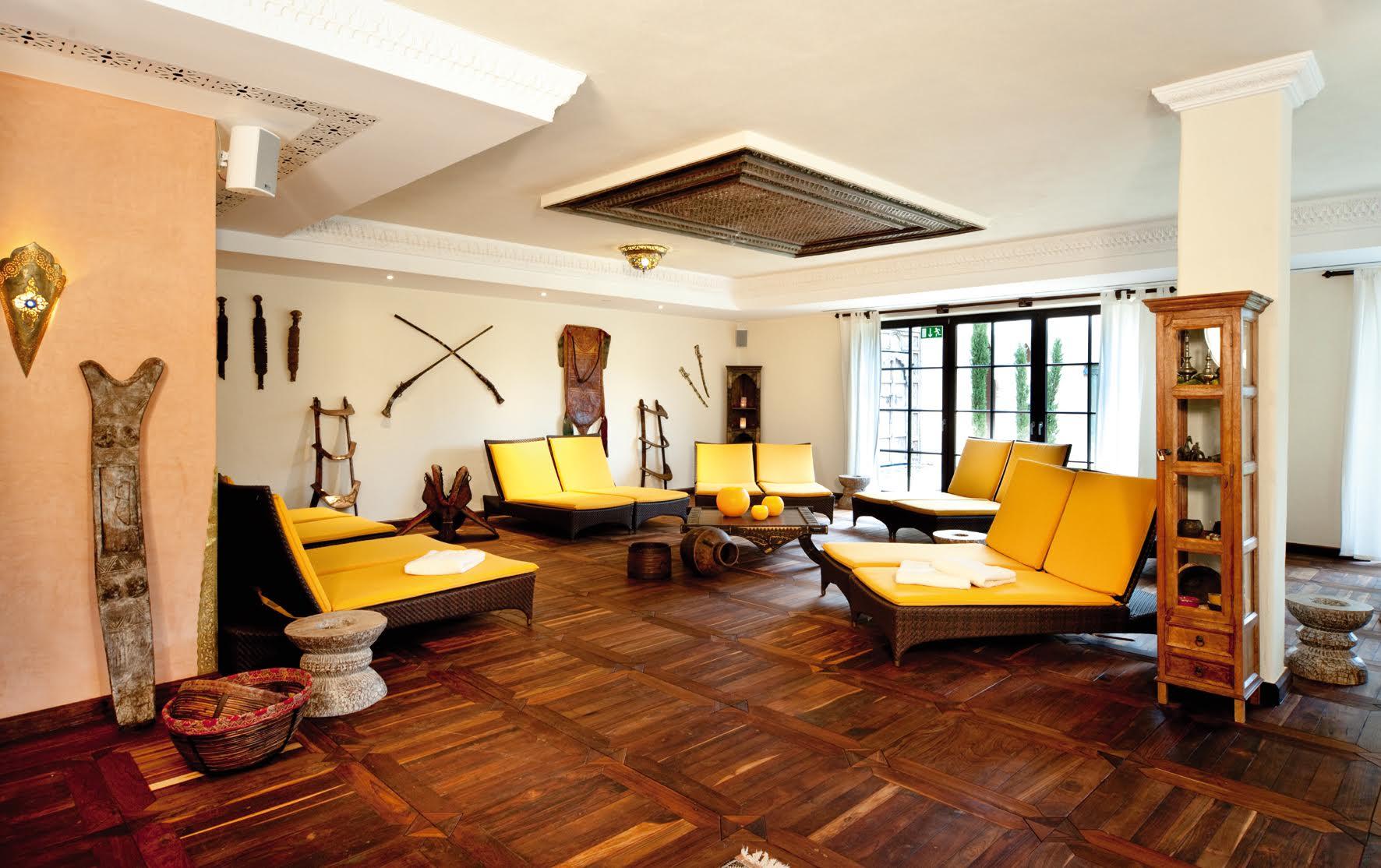 Die Berber-Lounge - hier lässt es sich unter der Sonne Afrikas entspannen / © Mediterana
