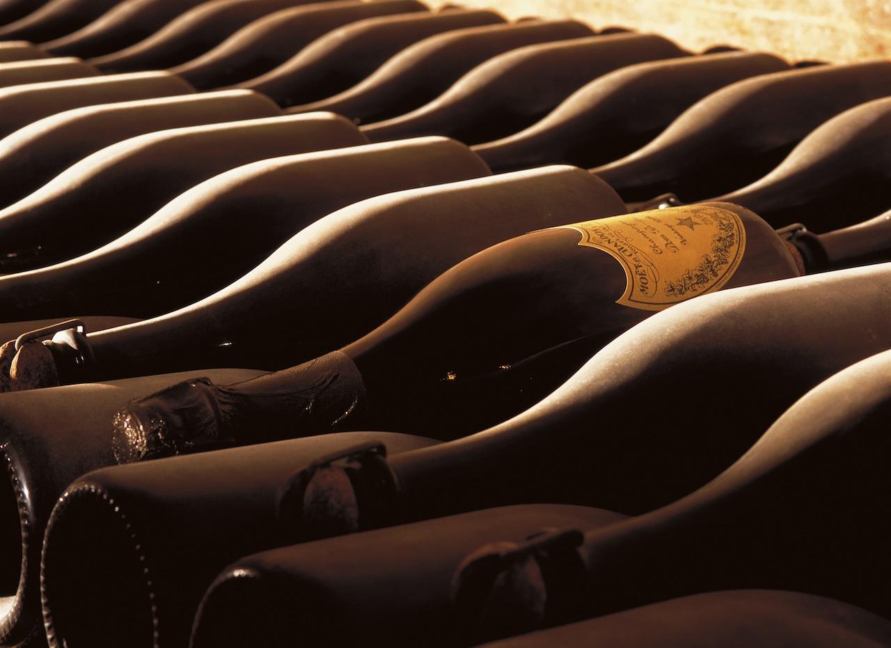 Champagner Dom Perignon wird auch gerne getrunken / © Moët Hennessy Deutschland