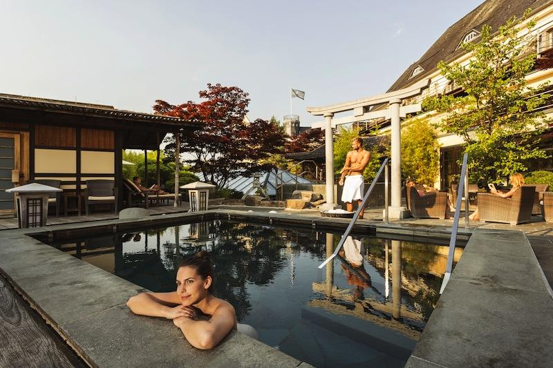 Der japanische Zen-Garten. Traumhaft schön / © Neptunbad Köln