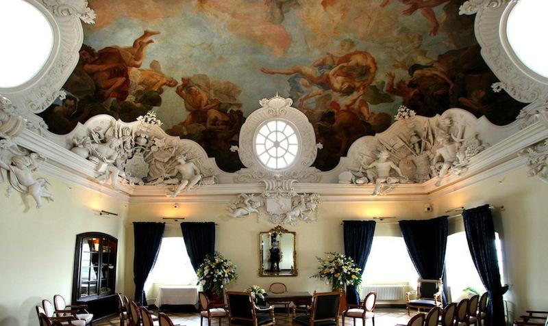 Wie wäre es mit der Trauung im barocken Zanetti-Saal - einfach traumhaft / © Althoff Grandhotel Schloss Bensberg