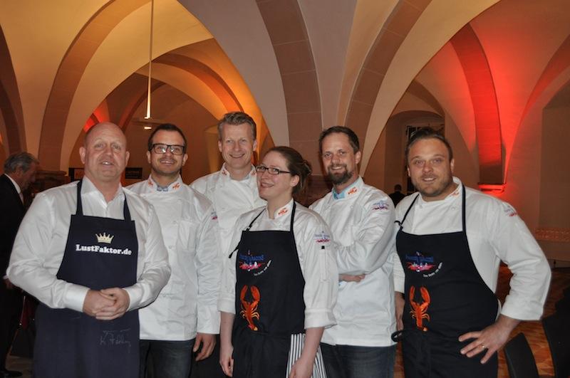 Kurz vor dem Start der Welcome Party des 20. Rheingau Gourmet & Wein Festival - jetzt herrscht noch Ruhe... / © Redaktion FrontRowSociety.net