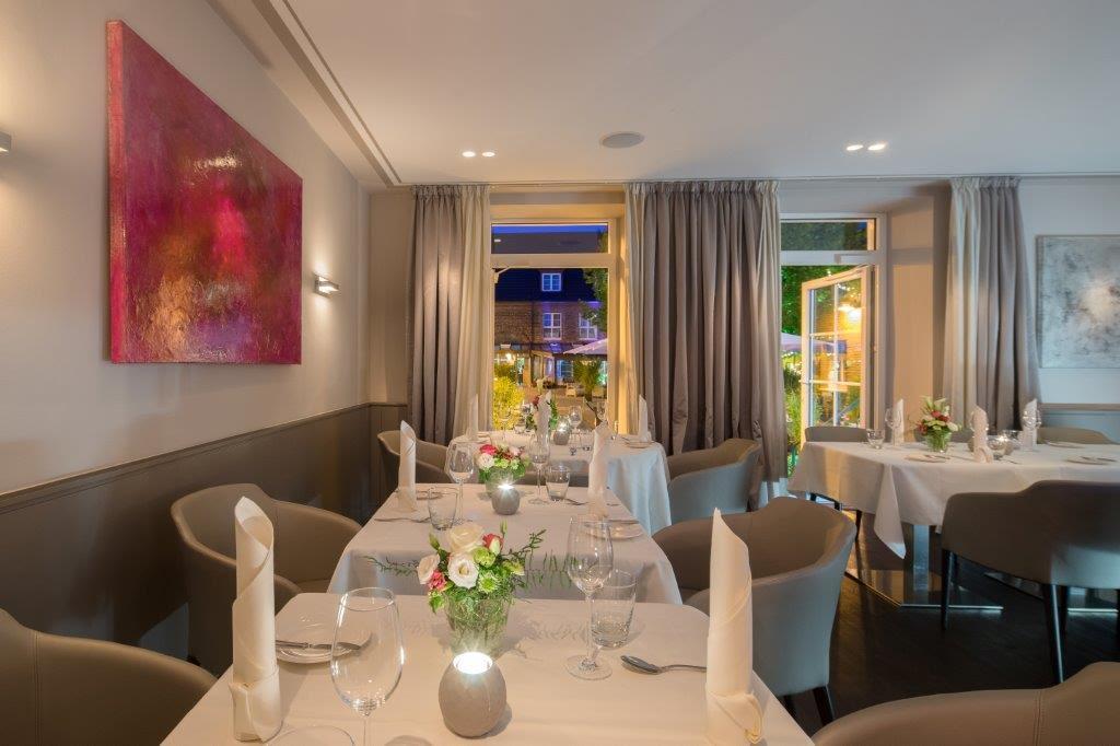 """Das Restaurant """"Le Gourmet"""" im Clostermanns Hof wurde mit 14 Gault Millau Punkten ausgezeichnet / © Clostermanns Hof"""