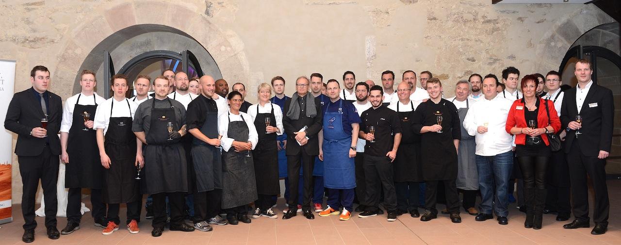 Alle Köche und Akteure der Welcome Party des 20. Rheingau Gourmet & Wein Festival / Foto:Heibel