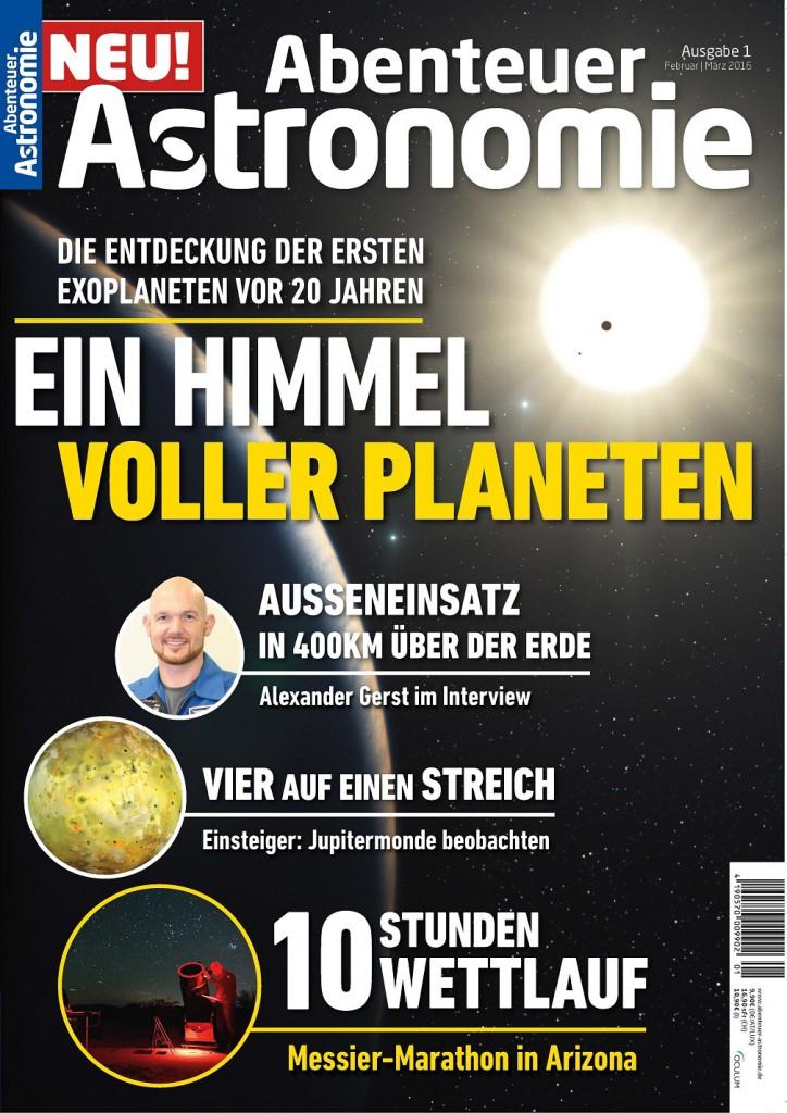 """Die neue Ausgabe der Zeitschrift """"Abenteuer Astronomie"""" wurde kostenfrei ausgegeben / © Oculum-Verlag GmbH"""