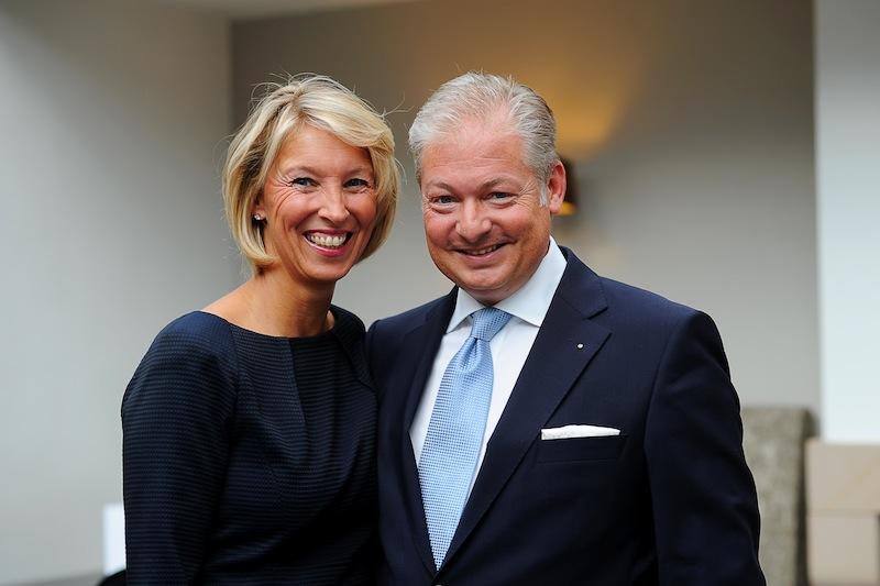 Tanja und Andreas Bernard - Eigentümer vom Romatik Hotel Walhalla. Sie führen das Hotel mit Herz und Seele / © Romantik Hotel Walhalla