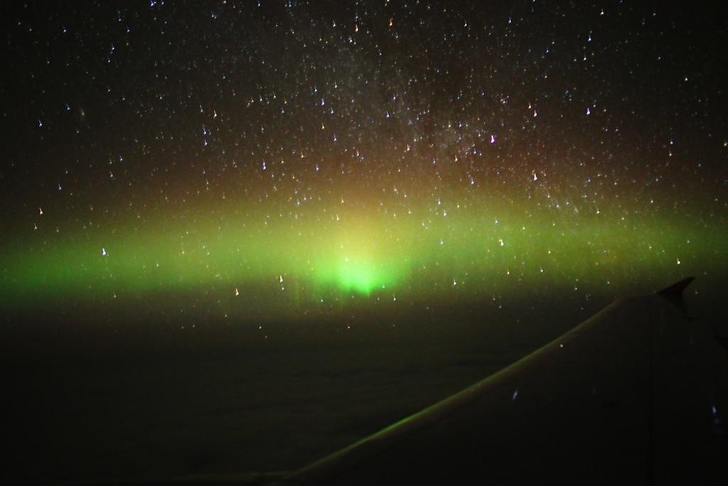 Hier ein schöner Anblick des Polarlichts. Peter Oden ist ein erfahrener Polarlichtjäger / © Peter Oden