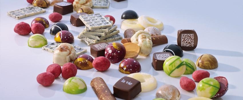 """Die """"la vie"""" Pralinen sind eine Augenweide und himmlisch im Geschmack / © LA VIE"""