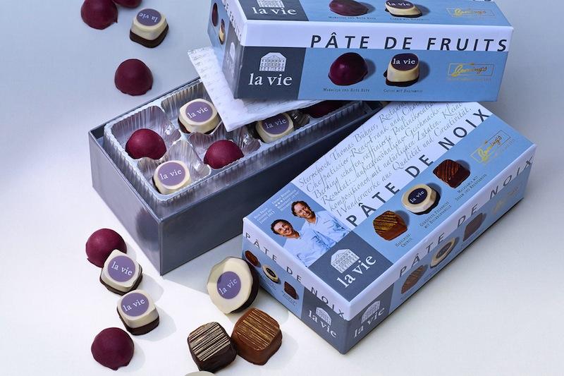 """Exquisite Pralinenkreationen aus dem Hause'la vie"""" und dem Chocolatier Berning / © LA VIE"""