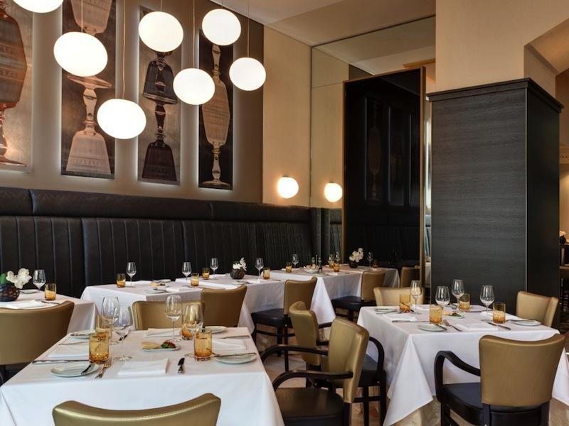 Hier ein Blick in die Brasserie Le Grand. Chef de Cuisine Sandy Bohm sorgt hier für Traumgenuss / © Steigenberger Leipzig