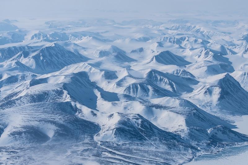 Die Weiten von Grönland - Eis und Schnee soweit das Auge blickt / © Redaktion FrontRowSociety.net, Foto Patrick Becker