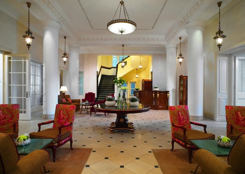 Schon beim Betreten wird der Gast fürstlich empfangen. Die Lobby im 5-Sterne-Superior-Hotel Fürstenhof, Leipzig / © Hotel Fürstenhof, Leipzig