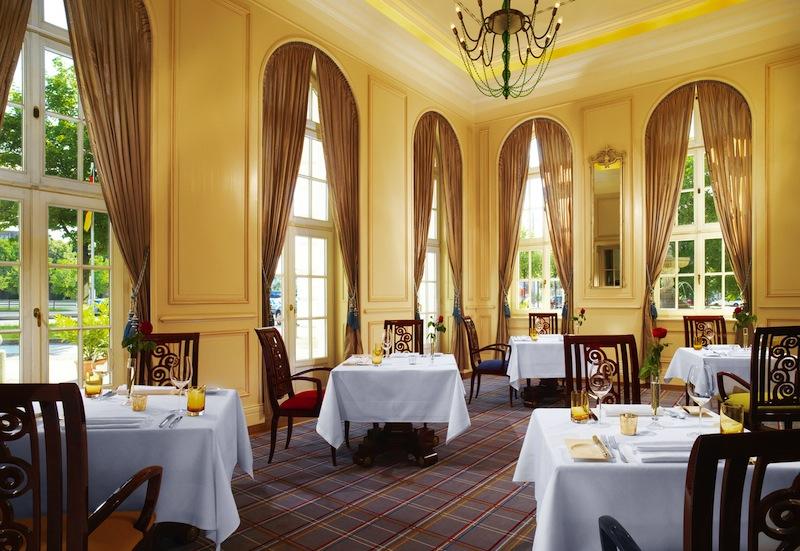 Das Gourmet-Restaurant Villers im 5-Sterne-Superior-Hotel Fürstenhof, Leipzig- hier kreiert Hannes Schlegel wahre Gaumenfreuden / © Hotel Fürstenhof, Leipzig