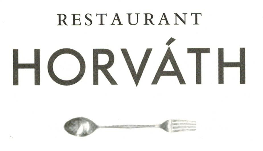 Der Göffel im Logo vom Restaurant Horvath