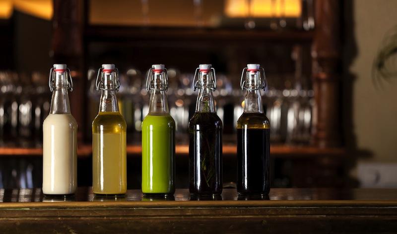 Etwas ganz Besonderes. Die nicht alkoholische Begleitung harmonierend zum jeweilen Menü / © Restaurant Horváth