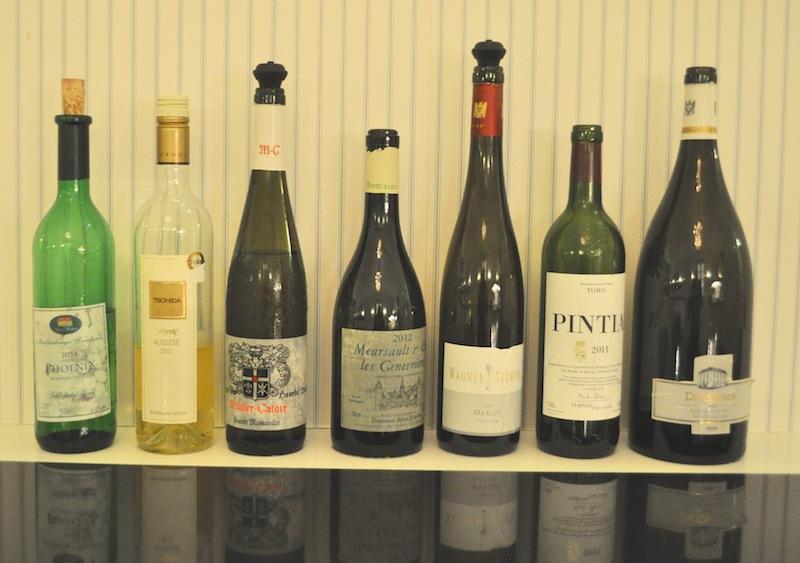 Vorab schon ein Blick auf meine Weinbegleitung. Zum Dinner im Sterne-Restaurant Friedrich Franz wurden korrespondierende Weine von Sommelier Norman Rex gereicht / © Redaktion FrontRowSociety.net