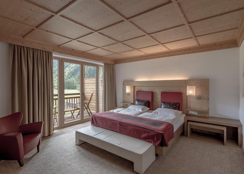 In der Suite Wohntraum sind luxury m Matratzen verbaut...die Roggenstroh-Einlage sorgt für einen angenehmen Schlaf / © Aqua Dome