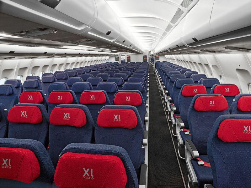 In den ersten Reihen befinden sich die bequemen XL Seats - mit 20% mehr Raum für einen angenehmen Transatlantikflug / © Track/airberlin