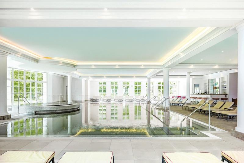 Das Spa - im Severin Palais gelegen - verfügt über einen schönen Pool / © Grand Hotel Heiligendamm