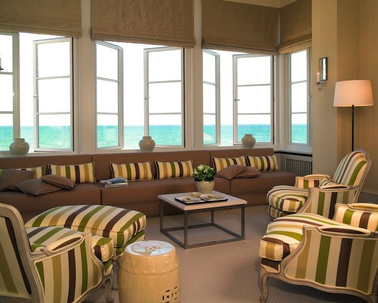 Von der Strand Suite im Grand Hotel Heiligendamm kann man den Sonnenuntergang beobachten - Entspannung pur / © Grand Hotel Heiligendamm