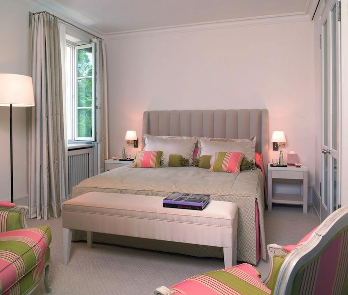 Frische Farben empfangen der Gast in der Superior Suite im Grand Hotel Heiligendamm / © Grand Hotel Heiligendamm