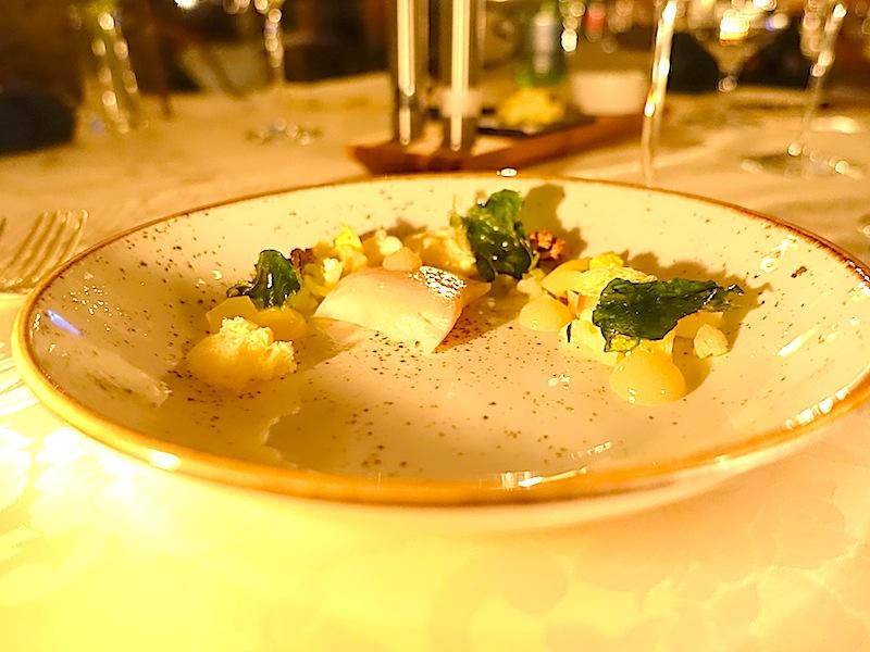 Leutascher Forelle : Apfel : Karfiol - alles Produkte aus der Region; einfach köstlich / © Redaktion FrontRowSociety.net