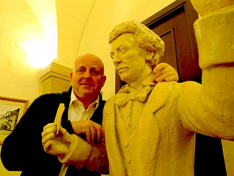 Richard Strauß war bekannterweise Skatspieler - nur verlieren konnte er nicht gut / © Redaktion FrontRowSociety.net