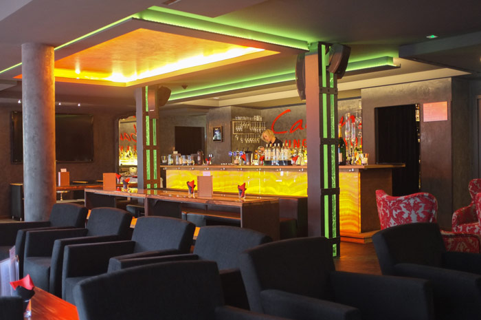 Die Cabana Lounge ist auch bei Einheimischen sehr beliebt / © Hotel Le Clervaux